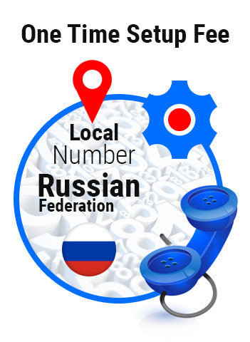 One Time Setup Fee Local Number Russian Federation