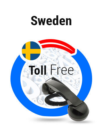 Sweden - Mobile Toll Free