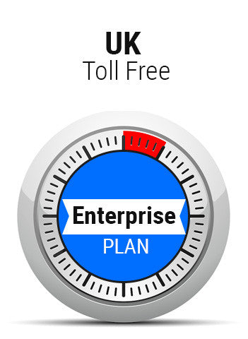 UK Toll Free Enterprise Plan