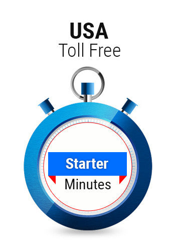 USA Toll Free Starter Minutes