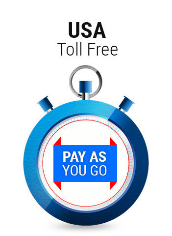 USA Toll Free Pay As You Go