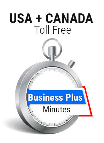 USA + Canada Toll Free Business Plus Plan