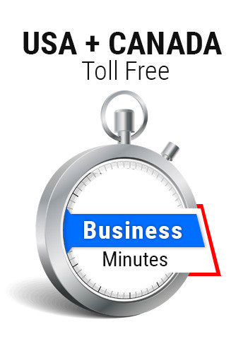 USA + Canada Toll Free Business Plan