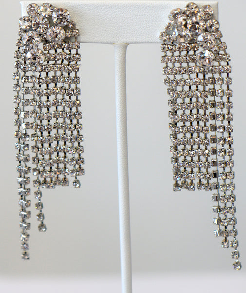 Heftsi Reinestone Long earring Wedding collection