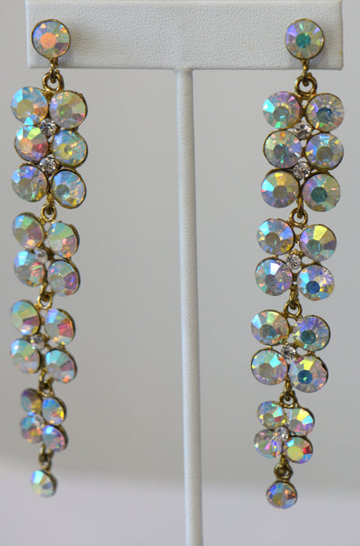 Heftsi AV Crystal Earrings