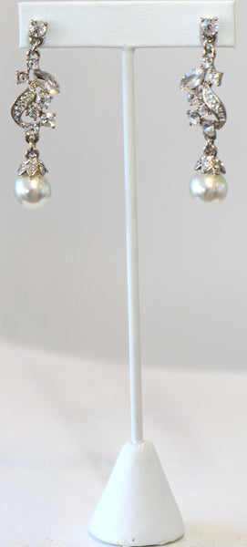 Heftsi Pearl Earrings, Wedding Collection