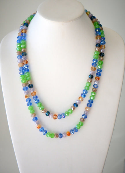 Multicolor beaded