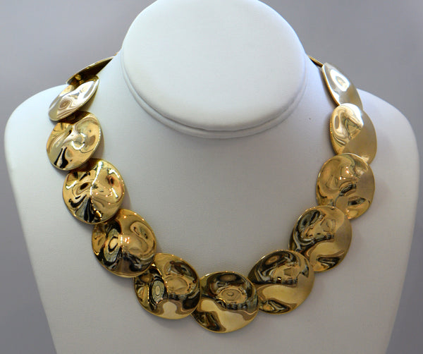 Gold and bold necklace