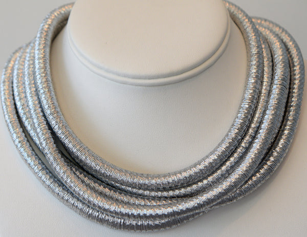 Heftsi Silver Cable Necklace