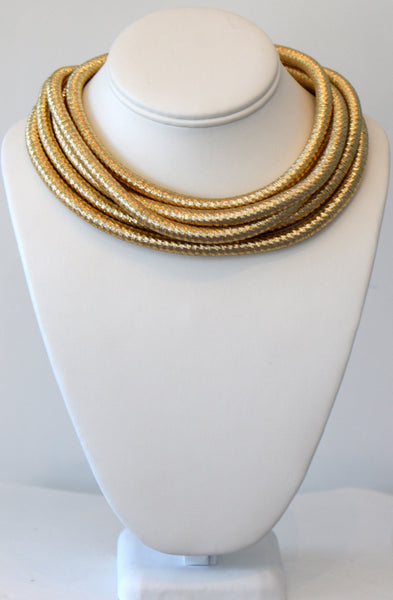 Heftsi Gold Cable Necklace