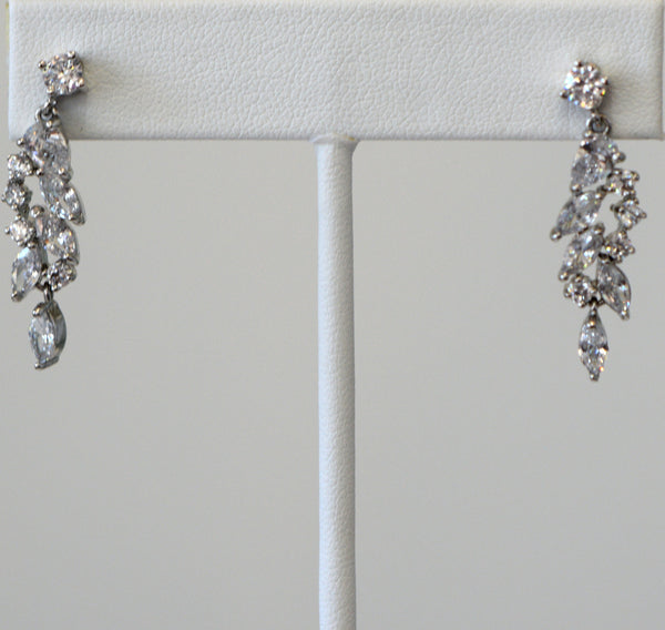 Heftsi Cubic zircon Wedding Collection Earring