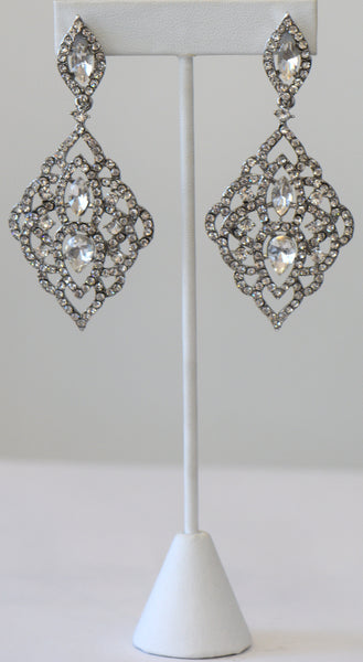 Heftsi Cubic zircon Wedding Collection Earrings