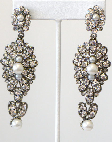 Heftsi Pearls Earrings Wedding collection