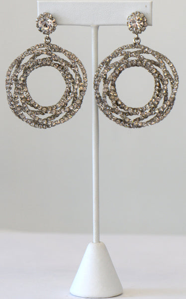 Heftsi The weel CZ Earrings