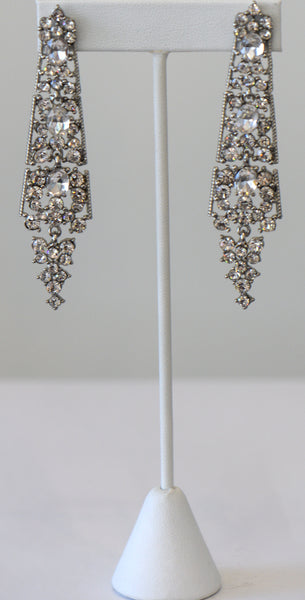 Heftsi Clear Earring Wedding Collection