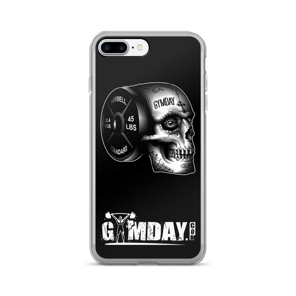 iron skull iphone case