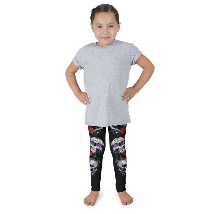SUGAR SKULL KIDS LEGGINGS