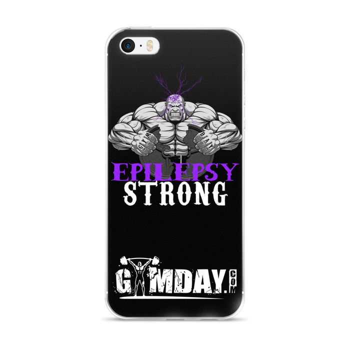 Epilepsy strong iPhone case