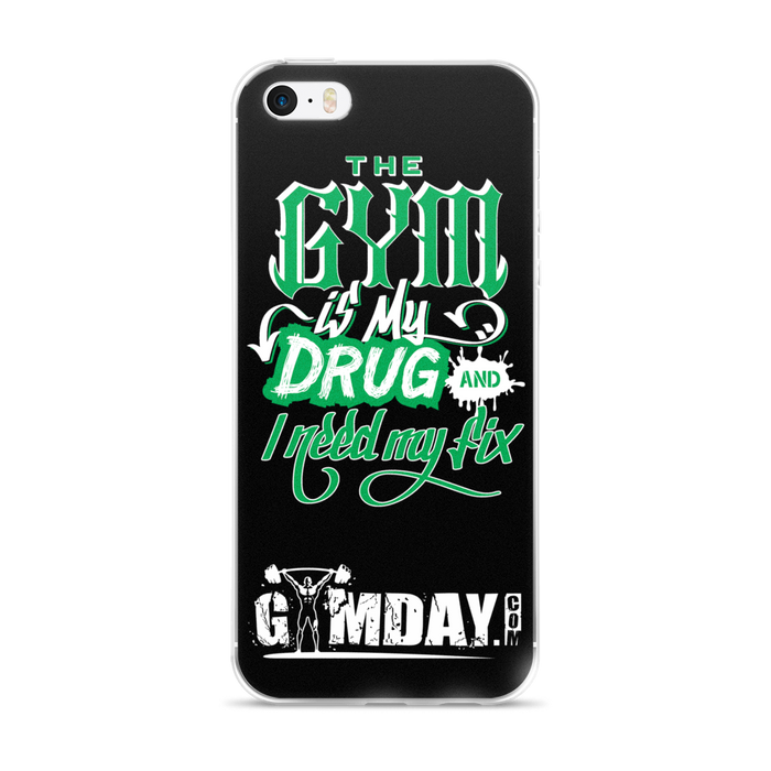 gym is my drug iPhone case