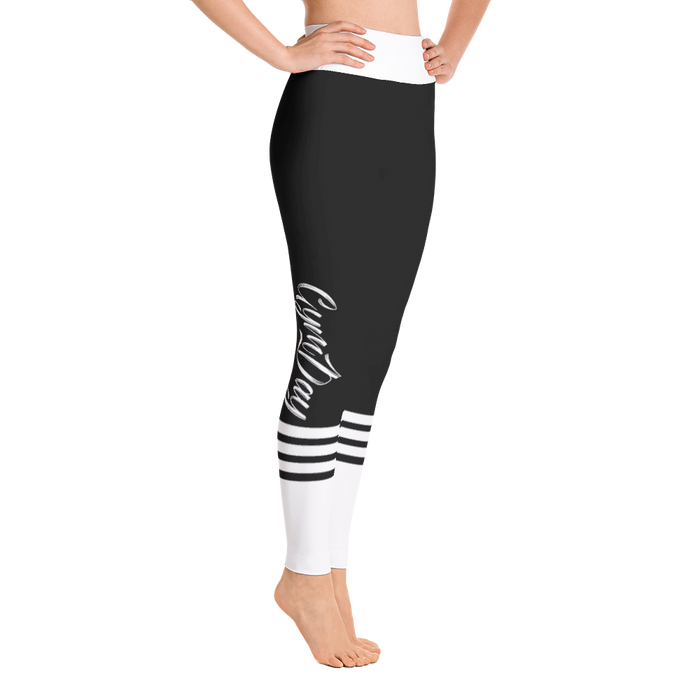 BLACK SPORT YOGA LEGGINGS