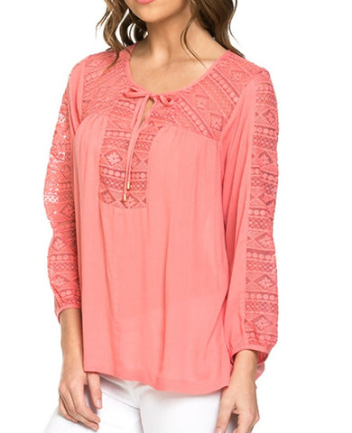 Coral Top 1602A020