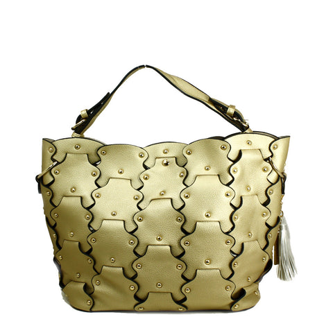 Petal Tote Bag with Removable Clutch -- DB04310