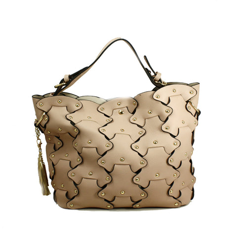 Petal Tote Bag with Removable Clutch -- DB04317