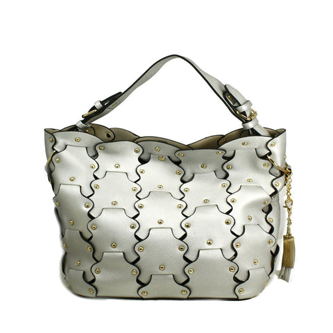 Petal Tote Bag with Removable Clutch -- DB04319