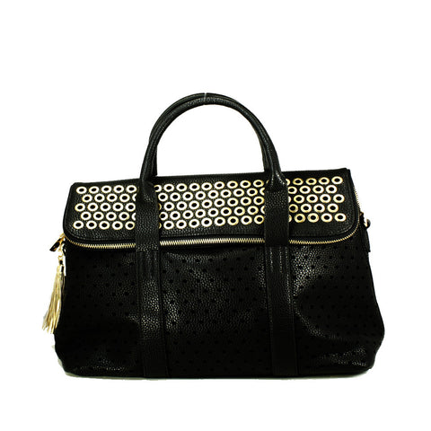 Rivet Tote Bag with Clutch inside -- DB04603