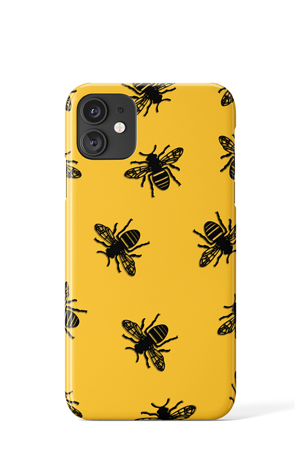 Bees Case (Yellow) - iPhone