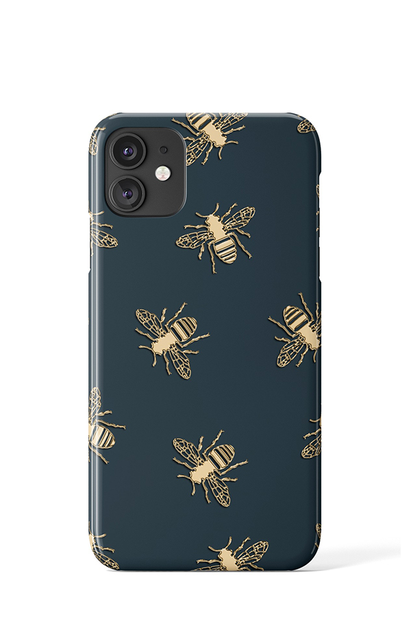 Bees Case (Green) - iPhone