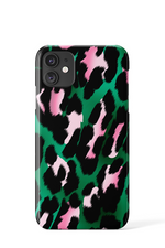 Leopard Brush Strokes Case - iPhone