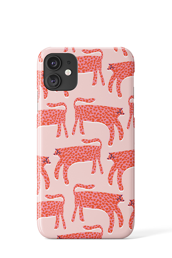 Cheetah Print Case (Pink) - iPhone