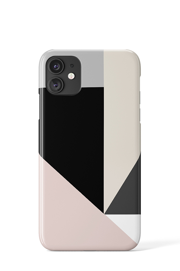 Geometric Case (Dark) - iPhone