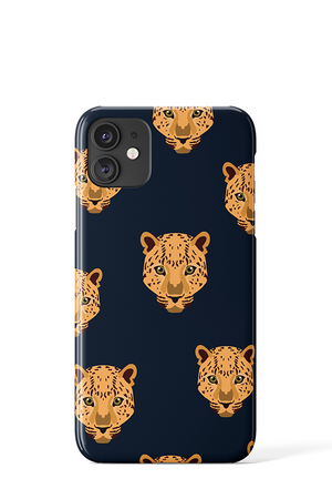 Load image into Gallery viewer, Leopard Face Case - iPhone