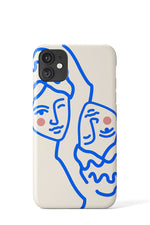 Greek Mythology Case  Beige - iPhone