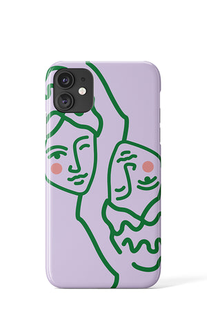 Greek Mythology Case (Lilac) - iPhone