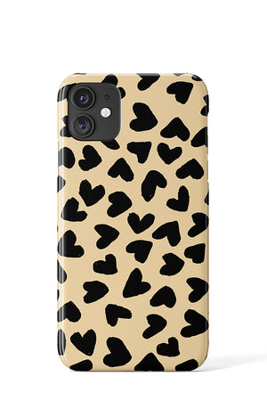 Big Painted Hearts Case - iPhone