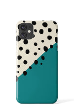 Block Colour Dots Case