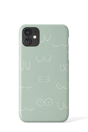 Boobs Case (Mint) - iPhone