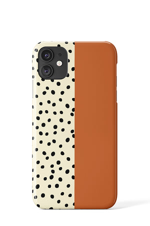 Load image into Gallery viewer, Geo Dots Case (Burnt Orange)