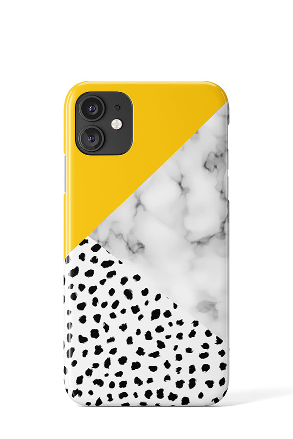 Marble Dalmatian Case - iPhone