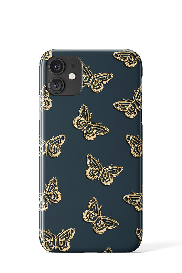 Gold Butterflies Case - iPhone