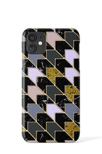Marble Chevron Case - iPhone