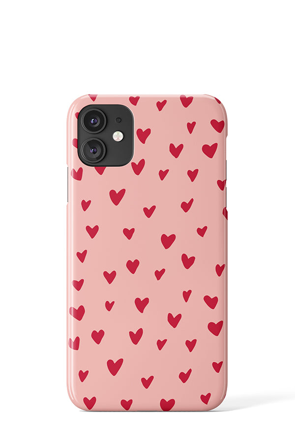 Painted Hearts Case