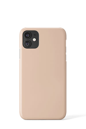 Plain Block Colour Case (Beige)