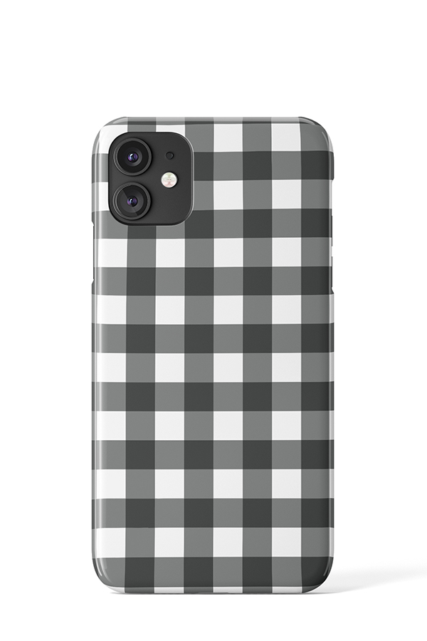Load image into Gallery viewer, Gingham Print Case - iPhone