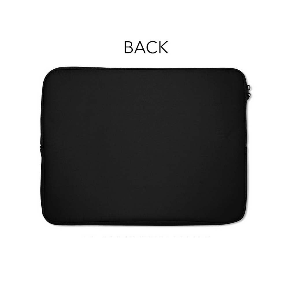 Lady In Black Laptop Sleeve