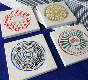 New York Coaster Set