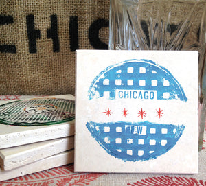Chicago Coaster Set